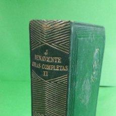 Libros de segunda mano: 1.942 JACINTO BENAVENTE. OBRAS COMPLETAS. TOMO II. EDITORIAL AGUILAR.. Lote 210456978