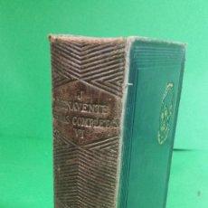 Libros de segunda mano: 1.946 JACINTO BENAVENTE. OBRAS COMPLETAS. TOMO VI. EDITORIAL AGUILAR.. Lote 210457466