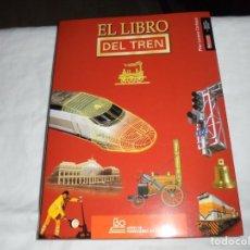 Libros de segunda mano: EL LIBRO DEL TREN.PILAR LOZANO CARBAYO.150 AÑOS DE FEROCARRIL EN ESPAÑA.. Lote 210477518