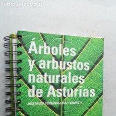 Libros de segunda mano: ÁRBOLES Y ARBUSTOS NATURALES DE ASTURIAS. JOSE MARIA DIAZ. Lote 210548995