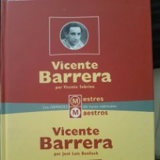 Libros de segunda mano: VICENTE BARRERA. MAESTROS DEL TOREO.. Lote 210563147