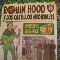Libros de segunda mano: ROBIN HOOD Y LOS CASTILLOS MEDIEVALES. Lote 210569537
