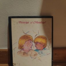 Libros de segunda mano: PRÍNCIPE Y MENDIGO MARK TWAIN. Lote 210577195