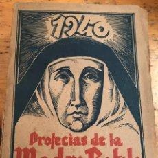 Libros de segunda mano: LAS PROFECIAS DE LA MADRE RAFOLS. Lote 210585987