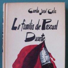 Libros de segunda mano: LA FAMILIA DE PASCUAL DUARTE DE CAMILO JOSE CELA. Lote 210595043