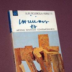 Libros de segunda mano: CHILLIDA. LUIS FIGUEROLA-FERRETI. ARTISTAS ESPAÑOLES CONTEMPORÁNEOS 5. MEC 1976. VER FOTOS. Lote 210599440