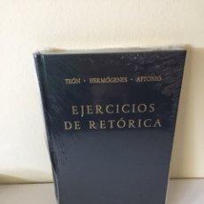 Libros de segunda mano: LIBRO - EJERCICIOS DE RETÓRICA - BIBLIOTECA CLÁSICA GREDOS - CLÁSICOS DE GRECIA Y ROMA. Lote 210607672