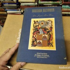 Libros de segunda mano: NOBILIARIO MALLORQUÍN. JOAQUÍN MARIA BOVER. JOSÉ J. DE OLAÑETA,ED. 1983. EJEMPLAR NUMERADO. MALLORCA. Lote 210641361