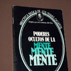 Libros de segunda mano: PODERES OCULTOS DE LA MENTE. ANTONIO JIMÉNEZ VISEDO. TEMAS OCULTOS Nº 2. JIMÉNEZ DEL OSO. UVE 1979. Lote 210679090