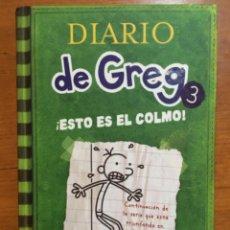 Libri di seconda mano: DIARIO DE GREG 3. ESTO ES EL COLMO! RBA. Lote 210682214