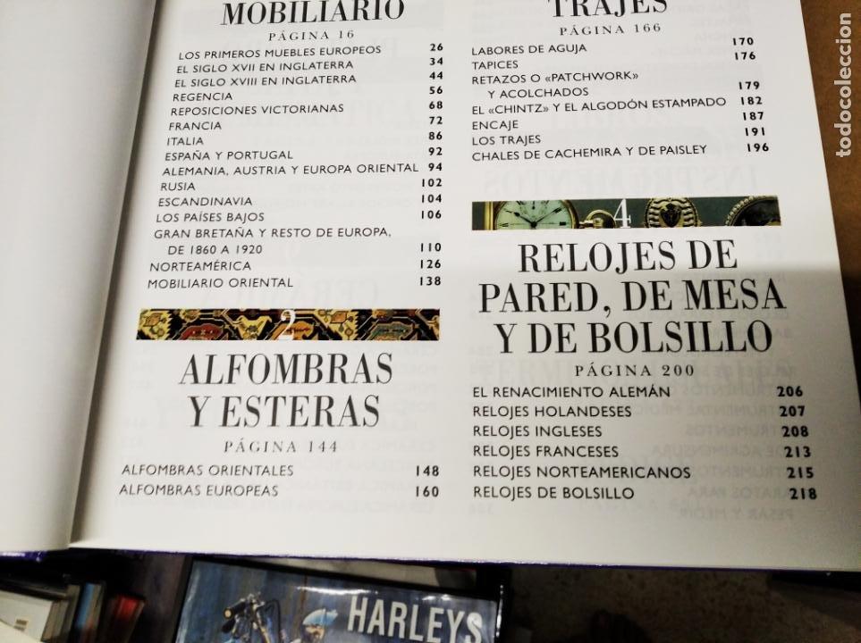 Libros de segunda mano: HISTORIA ILUSTRADA DE LAS ANTIGÜEDADES. HUON MALLALIEU . ED. LIBSA. 2000. RELOJES, JUGUETES, ARMAS - Foto 4 - 210702695