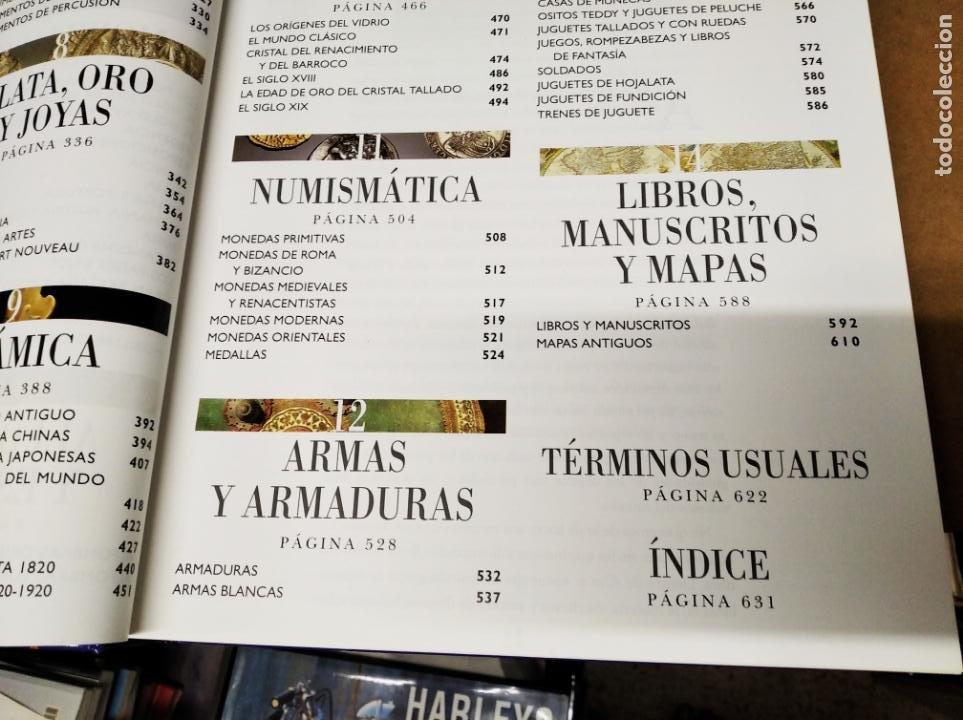 Libros de segunda mano: HISTORIA ILUSTRADA DE LAS ANTIGÜEDADES. HUON MALLALIEU . ED. LIBSA. 2000. RELOJES, JUGUETES, ARMAS - Foto 8 - 210702695
