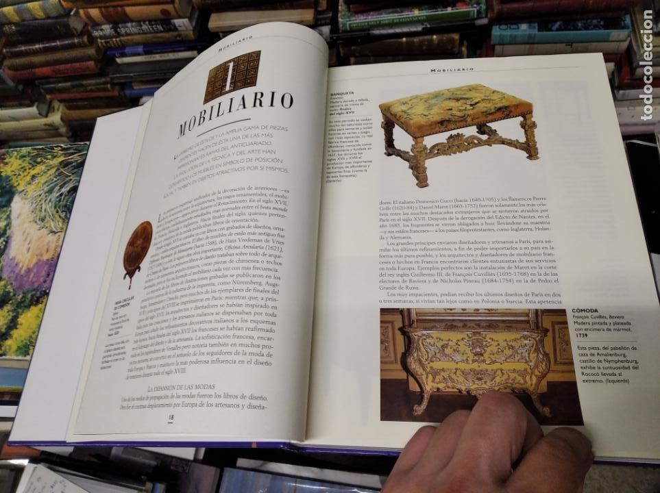 Libros de segunda mano: HISTORIA ILUSTRADA DE LAS ANTIGÜEDADES. HUON MALLALIEU . ED. LIBSA. 2000. RELOJES, JUGUETES, ARMAS - Foto 9 - 210702695