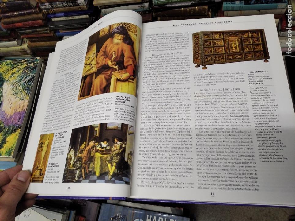 Libros de segunda mano: HISTORIA ILUSTRADA DE LAS ANTIGÜEDADES. HUON MALLALIEU . ED. LIBSA. 2000. RELOJES, JUGUETES, ARMAS - Foto 10 - 210702695