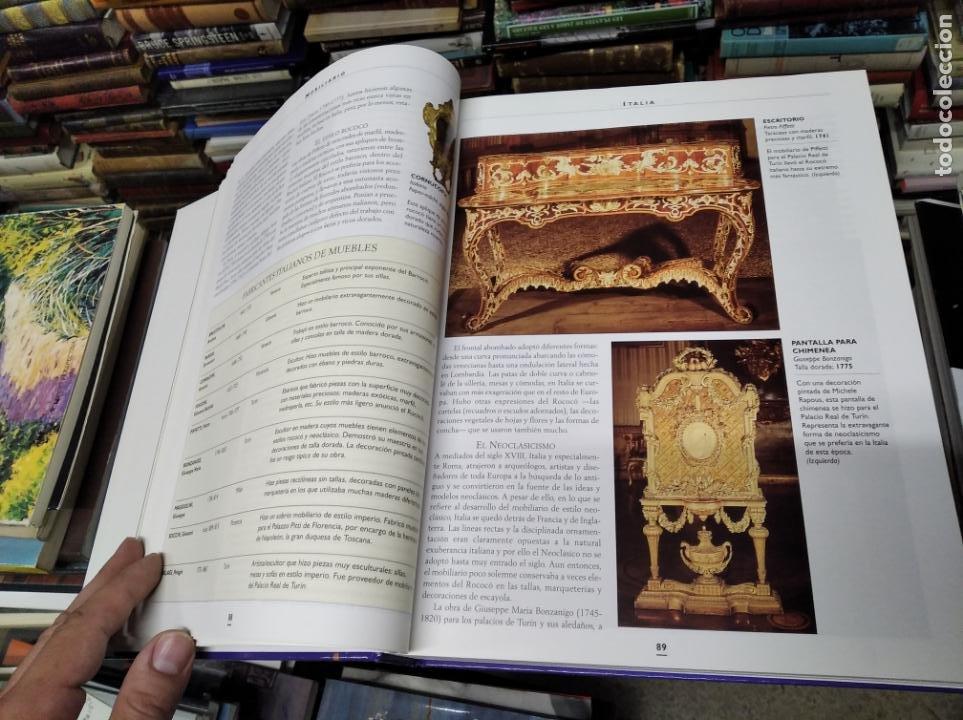 Libros de segunda mano: HISTORIA ILUSTRADA DE LAS ANTIGÜEDADES. HUON MALLALIEU . ED. LIBSA. 2000. RELOJES, JUGUETES, ARMAS - Foto 14 - 210702695