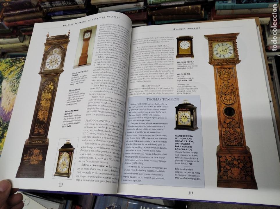 Libros de segunda mano: HISTORIA ILUSTRADA DE LAS ANTIGÜEDADES. HUON MALLALIEU . ED. LIBSA. 2000. RELOJES, JUGUETES, ARMAS - Foto 23 - 210702695