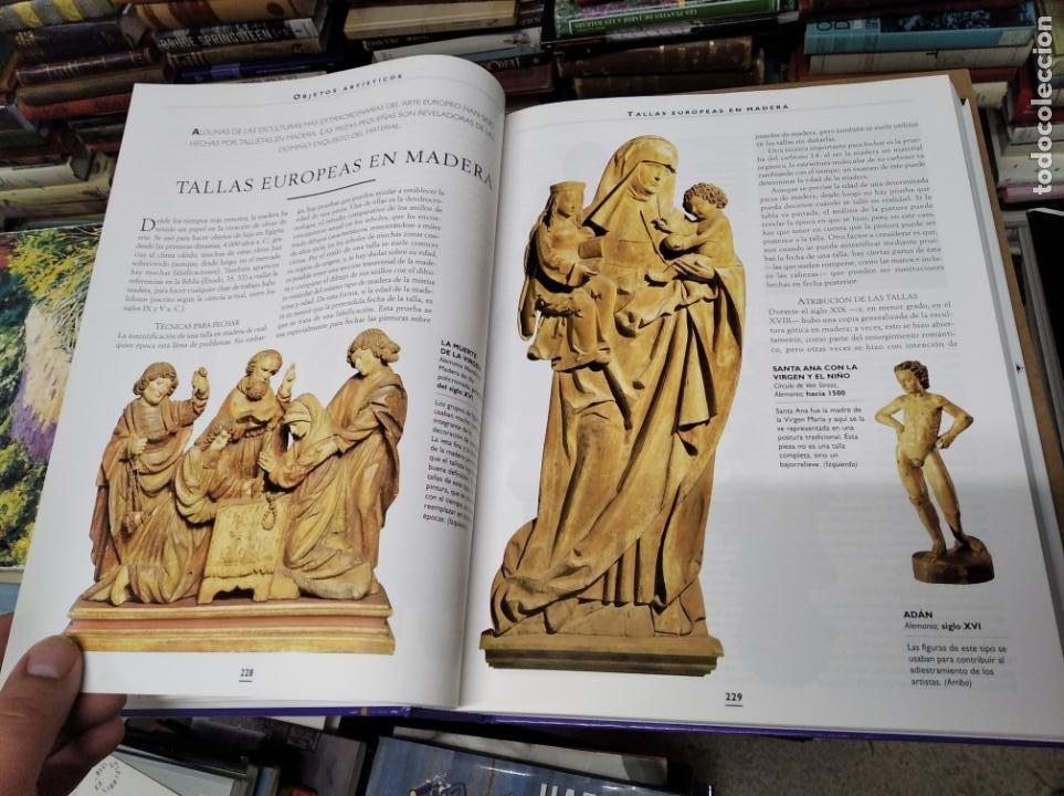 Libros de segunda mano: HISTORIA ILUSTRADA DE LAS ANTIGÜEDADES. HUON MALLALIEU . ED. LIBSA. 2000. RELOJES, JUGUETES, ARMAS - Foto 25 - 210702695
