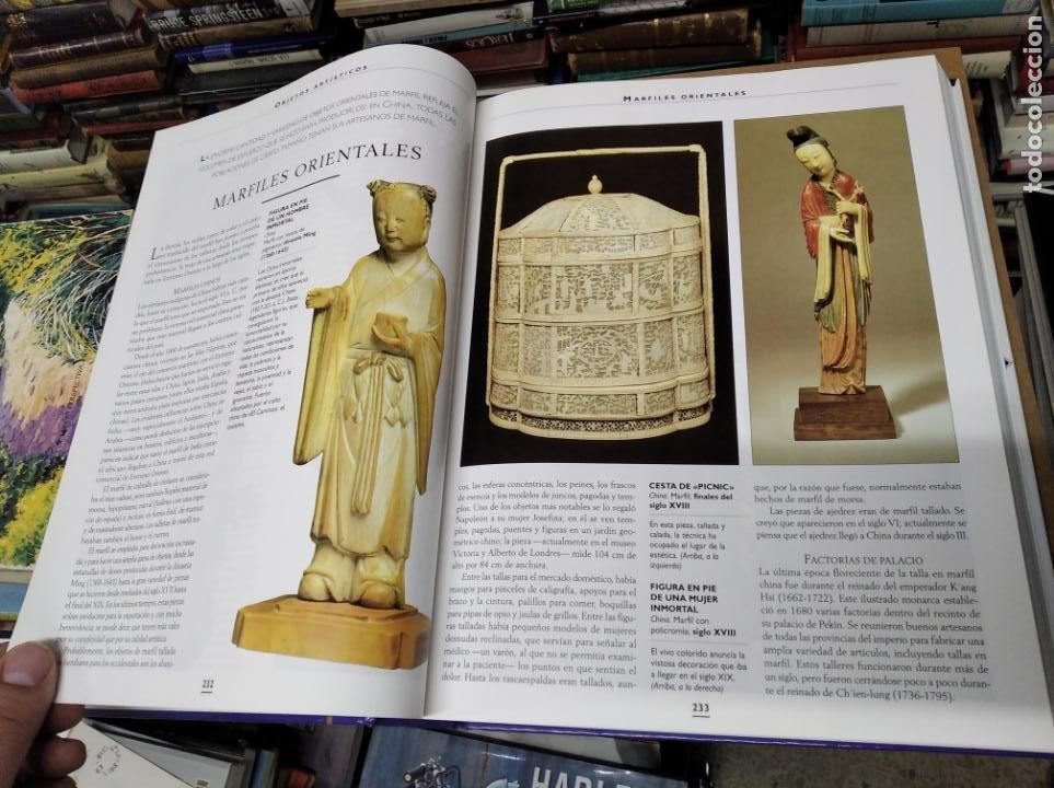 Libros de segunda mano: HISTORIA ILUSTRADA DE LAS ANTIGÜEDADES. HUON MALLALIEU . ED. LIBSA. 2000. RELOJES, JUGUETES, ARMAS - Foto 26 - 210702695