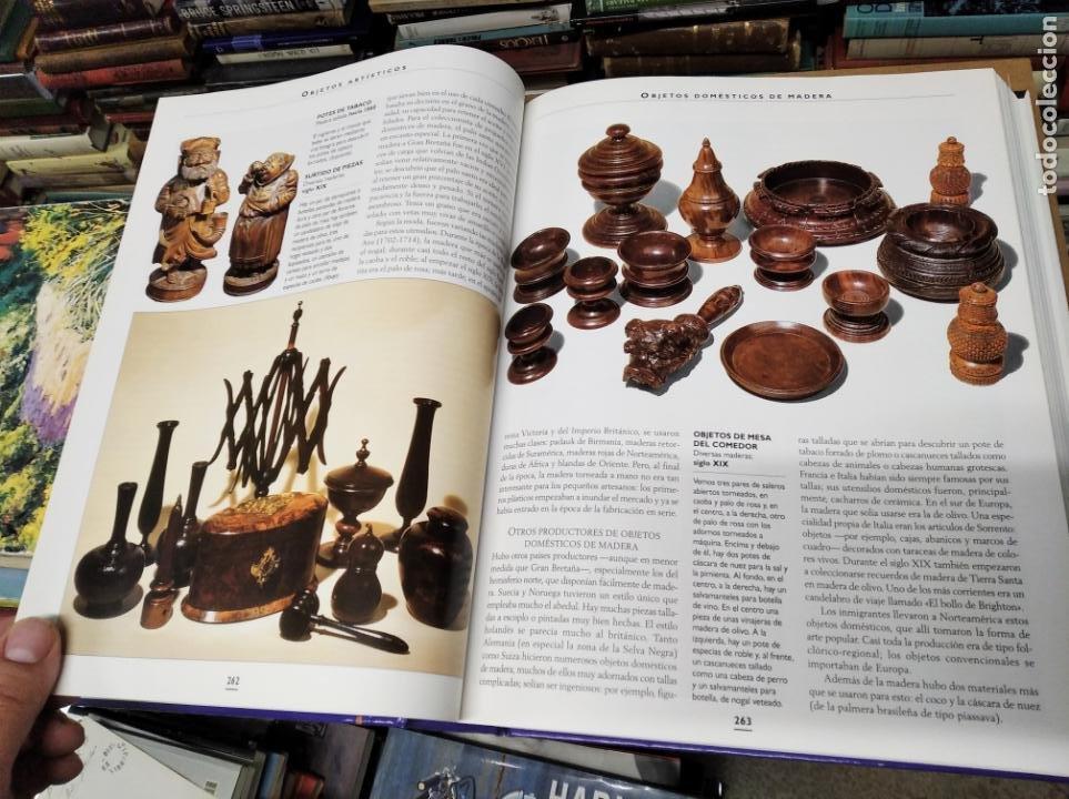 Libros de segunda mano: HISTORIA ILUSTRADA DE LAS ANTIGÜEDADES. HUON MALLALIEU . ED. LIBSA. 2000. RELOJES, JUGUETES, ARMAS - Foto 30 - 210702695