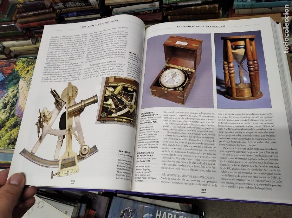 Libros de segunda mano: HISTORIA ILUSTRADA DE LAS ANTIGÜEDADES. HUON MALLALIEU . ED. LIBSA. 2000. RELOJES, JUGUETES, ARMAS - Foto 31 - 210702695