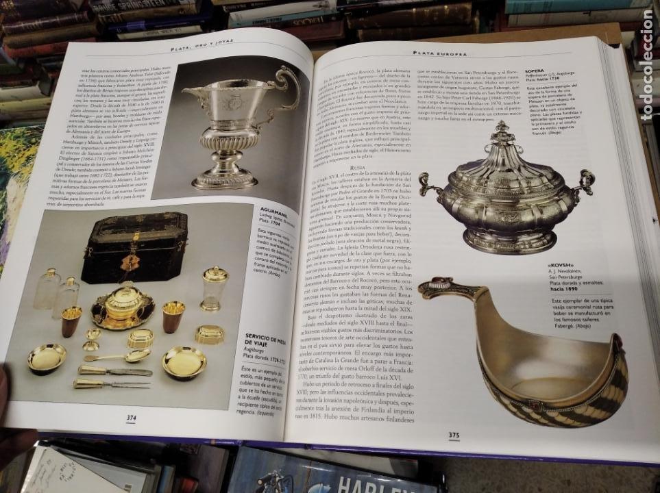 Libros de segunda mano: HISTORIA ILUSTRADA DE LAS ANTIGÜEDADES. HUON MALLALIEU . ED. LIBSA. 2000. RELOJES, JUGUETES, ARMAS - Foto 40 - 210702695