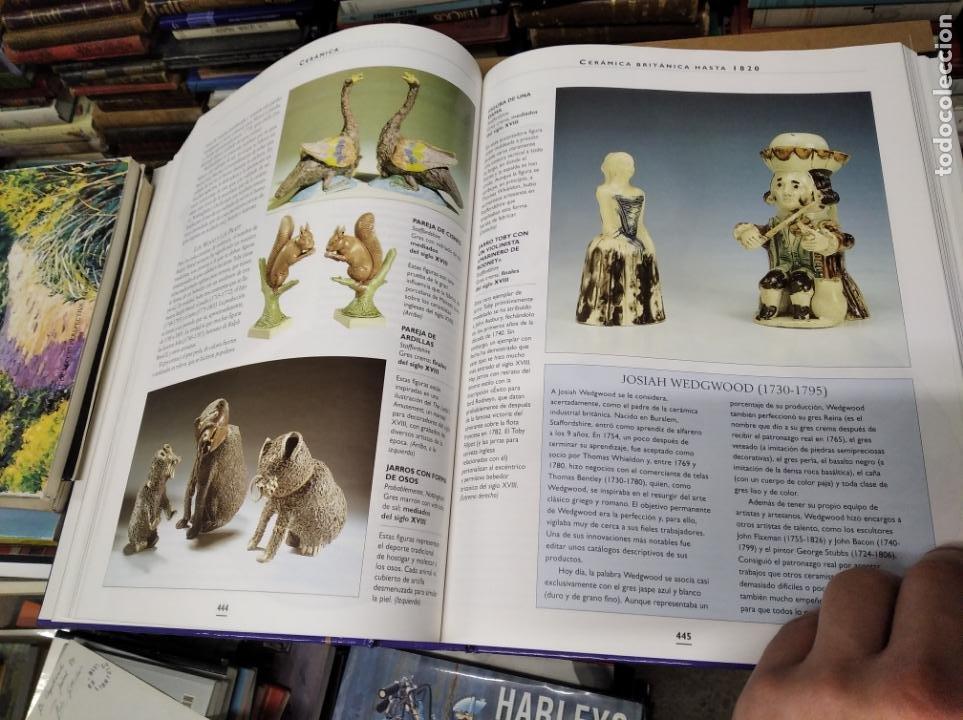 Libros de segunda mano: HISTORIA ILUSTRADA DE LAS ANTIGÜEDADES. HUON MALLALIEU . ED. LIBSA. 2000. RELOJES, JUGUETES, ARMAS - Foto 46 - 210702695