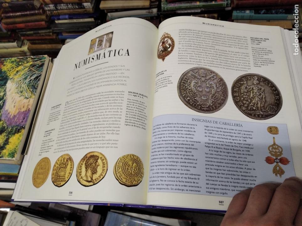 Libros de segunda mano: HISTORIA ILUSTRADA DE LAS ANTIGÜEDADES. HUON MALLALIEU . ED. LIBSA. 2000. RELOJES, JUGUETES, ARMAS - Foto 54 - 210702695