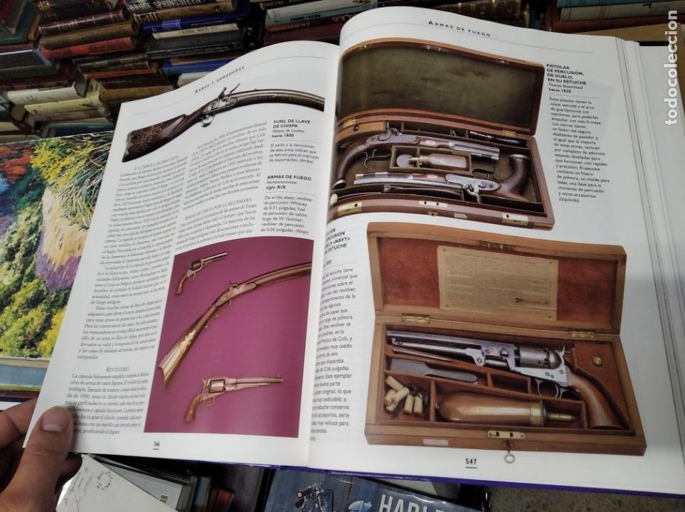 Libros de segunda mano: HISTORIA ILUSTRADA DE LAS ANTIGÜEDADES. HUON MALLALIEU . ED. LIBSA. 2000. RELOJES, JUGUETES, ARMAS - Foto 60 - 210702695