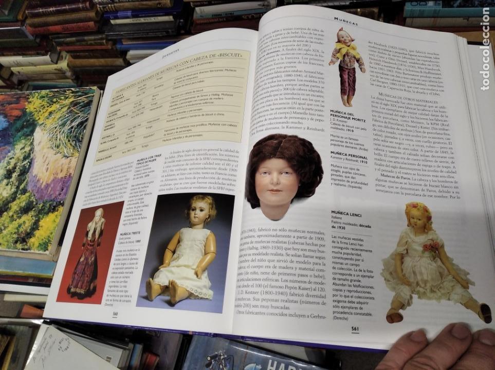 Libros de segunda mano: HISTORIA ILUSTRADA DE LAS ANTIGÜEDADES. HUON MALLALIEU . ED. LIBSA. 2000. RELOJES, JUGUETES, ARMAS - Foto 62 - 210702695