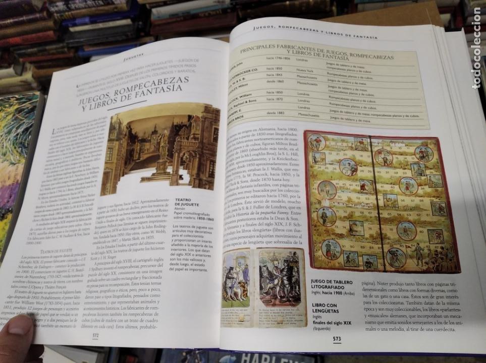 Libros de segunda mano: HISTORIA ILUSTRADA DE LAS ANTIGÜEDADES. HUON MALLALIEU . ED. LIBSA. 2000. RELOJES, JUGUETES, ARMAS - Foto 63 - 210702695
