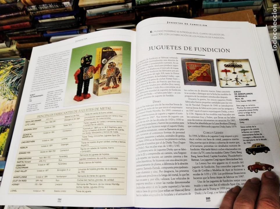 Libros de segunda mano: HISTORIA ILUSTRADA DE LAS ANTIGÜEDADES. HUON MALLALIEU . ED. LIBSA. 2000. RELOJES, JUGUETES, ARMAS - Foto 65 - 210702695