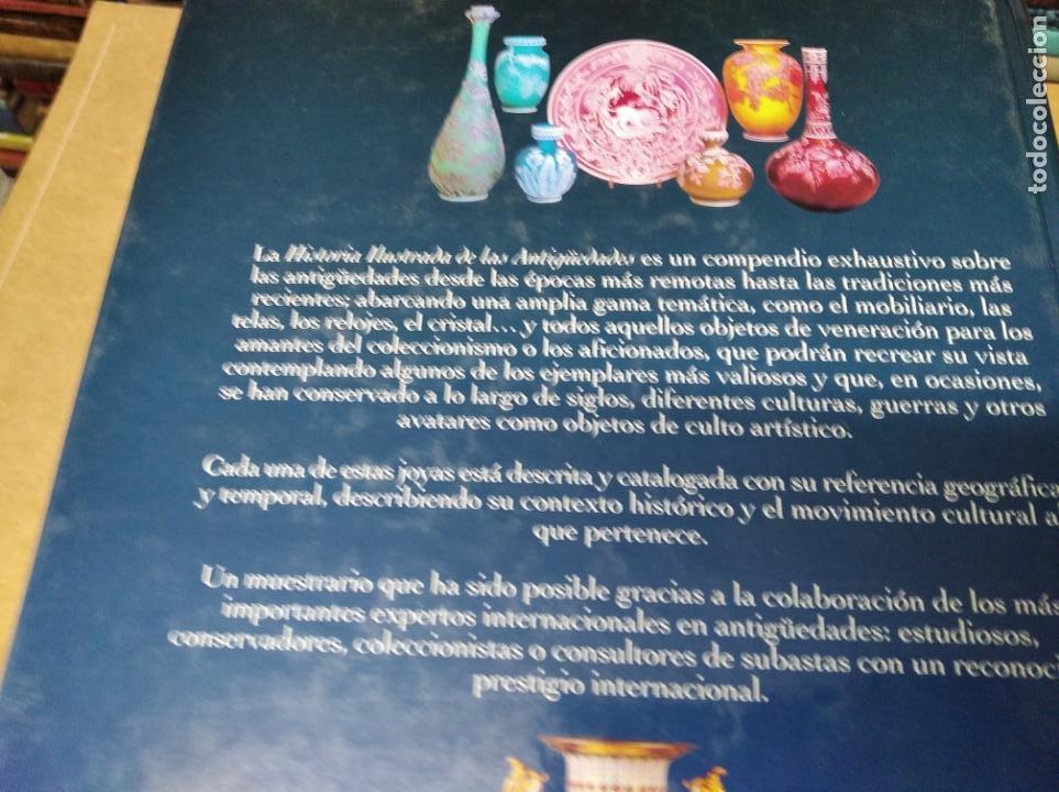 Libros de segunda mano: HISTORIA ILUSTRADA DE LAS ANTIGÜEDADES. HUON MALLALIEU . ED. LIBSA. 2000. RELOJES, JUGUETES, ARMAS - Foto 71 - 210702695