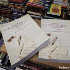 Libros de segunda mano: INVENTARI DELS REGISTRES SACRAMENTALS DE L'ARXIU DIOCESÀ DE MALLORCA . 2 VOLUMS. 1ª EDICIÓ 2010. Lote 210703700