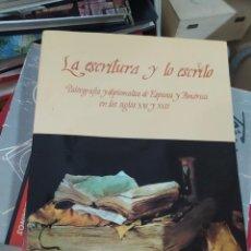 Libros de segunda mano: LA ESCRITURA Y LO ESCRITO, VICENTA CORTÉS. EP-742. Lote 210739696