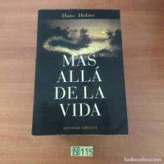 Libros de segunda mano: MÁS ALLÁ DE LA VIDA. Lote 210800640