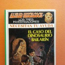 Livros em segunda mão: EL CASO DEL DINOSAURIO BAILARÍN. ALFRED HITCHCOCK LOS TRES INVESTIGADORES. EDITORIAL MOLINO. Lote 210813170