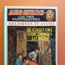 Livros em segunda mão: EL CASO DEL SARCOFAGO LLORÓN. ALFRED HITCHCOCK LOS TRES INVESTIGADORES. EDITORIAL MOLINO. Lote 210813224