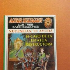 Livros em segunda mão: EL CASO DE LA ESTATUA DESTRUCTORA. ALFRED HITCHCOCK LOS TRES INVESTIGADORES. EDITORIAL MOLINO. Lote 210813316
