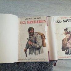 Libros de segunda mano: LOS MISERABLES. VÍCTOR HUGO. EDICIÓN DE RAMÓN SOPENA. REENCUADERNADO Y RECUPERADO.. Lote 210837191