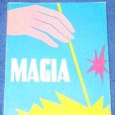 Libros de segunda mano: MAGIA MODERNA AL ALCANCE DEL AFICIONADO - COLECCIÓN AFICIONES Nº 14 - EDITORIAL ALAS ¡IMPECABLE!. Lote 210936387