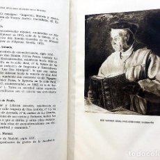Libros de segunda mano: DICCIONARIO BIOGRÁFICO DE ENCUADERNADORES ESPAÑOLES. (VICENTE CASTAÑEDA) TALLERES ENCUADERNACIÓN. Lote 211389209