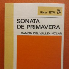Libros de segunda mano: SONATA DE PRIMAVERA. RAMÓN DEL VALLE-INCLÁN. LIBRO RTV. EDITORIAL SALVAT. Lote 211401650
