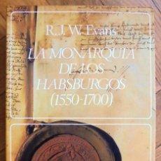 Libros de segunda mano: LA MONARQUÍA DE LOS HABSBURGOS ( 1550 - 1700). Lote 211401812