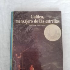 Libros de segunda mano: GALILEO, MENSAJERO DE LAS ESTRELLAS. JEAN PIERRE MAURY. AGUILAR UNIVERSAL 14. LIBRO. Lote 211401874