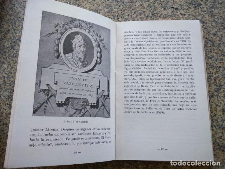 Libros de segunda mano: HISTORIA DE RUSIA HASTA LA REVOLUCION -- D. S. MIRSKY -- COLECCION ESTUDIO - SEIX BARRAL 1949 -- - Foto 2 - 211410075