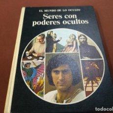 Libros de segunda mano: EL MUNDO DE LO OCULTO - SERES CON PODERES OCULTOS - COLIN WILSON - EDITORIAL NOGUER - ES4. Lote 211419922
