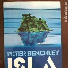 Libros de segunda mano: ISLA. PETER BENCHLEY. ED. ARGOS VERGARA. 1ª EDICIÓN 1979. Lote 211437280