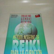 Libros de segunda mano: IYASHI NO GENDAI REIKIHO MÉTODO MODERNO DE REIKI PARA LA CURACIÓN. Lote 211441397