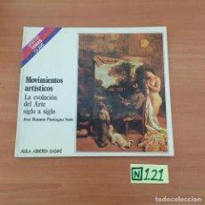 Libros de segunda mano: MOVIMIENTOS ARTÍSTICOS. Lote 211456505