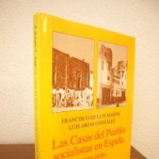 Libros de segunda mano: LAS CASAS DEL PUEBLO SOCIALISTAS EN ESPAÑA (1900-1936) ED. ARIEL, 1997. COMO NUEVO.. Lote 211488997